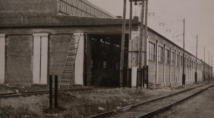 в апреле 1956 года была сдана в эксплуатацию вторая очередь сортировочной платформы