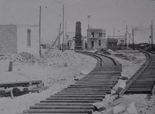 строительство новых горочных постов (май 1953)