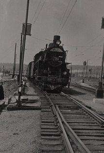 встреча поезда