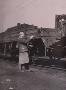 меловая разметка вагонов