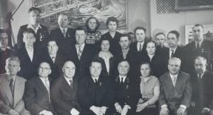 делегаты 16 съезда профсоюзов.Москва 1960 год