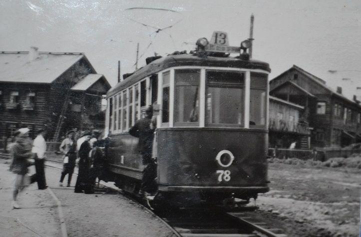 методом народной стройки построена трамвайная линия