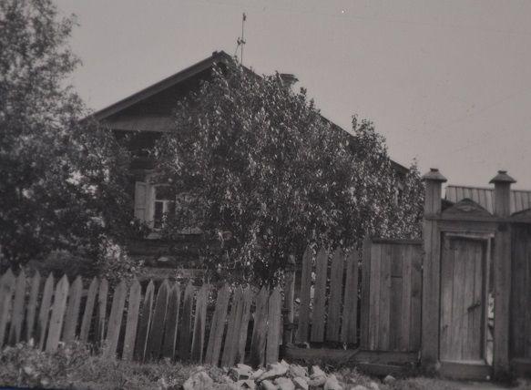 индивидуальный дом одного из зачинателей стахановского движения т.Устюжанина