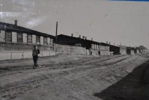 первые жилые дома работников станции