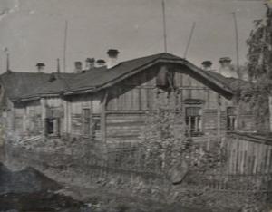 жилой дом разъезда Палкино